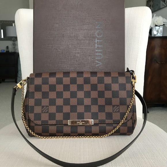 Louis Vuitton Handbags - Louis Vuitton favorite mm damier ebene 9a9b6f2c0